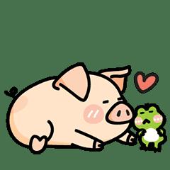 豬肉子&小蛙2