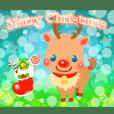 キラキラ動く!クリスマスカード2