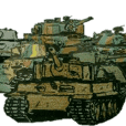 military sticker tanks