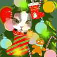 小黑仔和鴨鴨-聖誕快樂和新年快樂