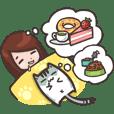 Glutton & Mimide Cute Diary