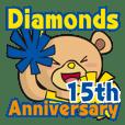 Cheerleader Diamonds 15th anniversary