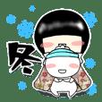Zashiki warashi sticker3