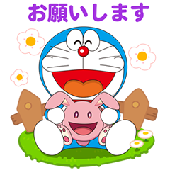 LINE Stickers LINE PokoPoko × Doraemon the Movie 2019