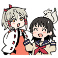 Inari's Konkon Sticker