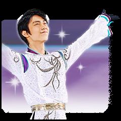 Yuzuru Hanyu 3.11SMILE sticker