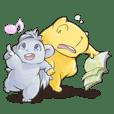 A Capybara and A Porcupine 2