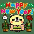 Honobonokuma-Christmas&Happy new year!