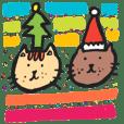 麵包貓&烤麵包貓-聖誕節&新年快樂!