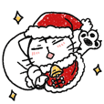 TORAO Sticker2 -Christmas&NewYear-