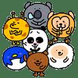 Round and cute animals