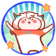 Capricorn's funny daily life stickers