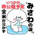 Funny Face Bunny Misawa