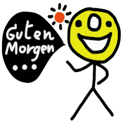 Guten Tag German Line Stickers Line Store