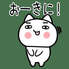のほほん関西弁のまゆげ犬