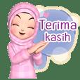 Amarena Muslim hijab girl-indo