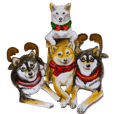Shiba Inu Sisters and friends - 4