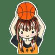 ジャンピング ガール! バスケットボール部!