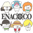 enacocoのONE PIECE〜くまやん。〜