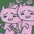 Melancholy pink CAT