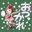 ひま子ちゃん77 シャボン玉で毎日挨拶!
