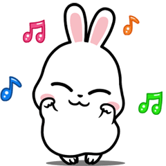 Ponpon White Rabbit