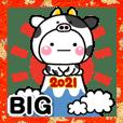 大人の年賀スタンプ♡BIG♡【2021年】