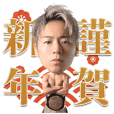 K-1 official Takeru LINE sticker vol.2