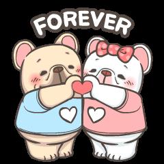 French Bulldog PIGU-Animated Sticker I
