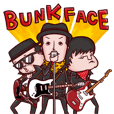 BUNKFACE Official Sticker
