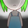 明日綠髮系女孩