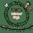 Merryloveと冬の日