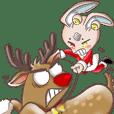 輻射棒棒糖2  白色聖誕冬季特輯