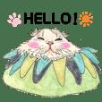 Cute Cat daily Sticker from Hiroshima