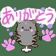 おちゃめな黒猫【色鉛筆】