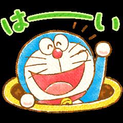 Doraemon Greeting Stickers