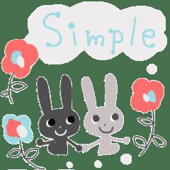 Adult simple sticker