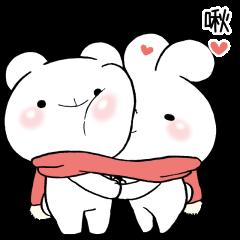 緩緩×甜心♡熊兔寶+16