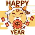 Taurus - BluesBear New Year of the Ox
