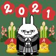 擦れうさぎ 年末年始2021