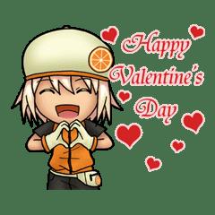 Renji Happy Valentine S Day Line Stickers Line Store