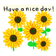 Lot of Flowers sticker