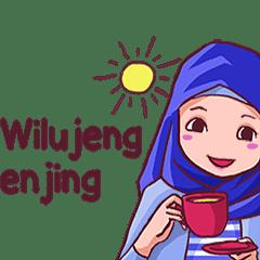 Euis Geulis Hijab Girl Sunda (Animated)