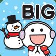 【BIG】冬に無難に使える敬語スタンプ