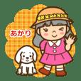 JEAキャラクター「あかりちゃん」