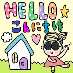 english & japanese sticker18