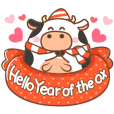 Hello Year of the ox (English)