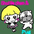 Shuttlechan & Pug