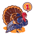 Turkey is coming ! -Gobble 1