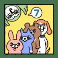 話しかけてくる動物たち・7~慣用句編~